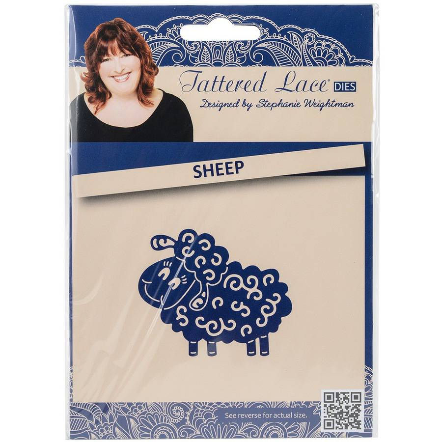 Tattered Lace Metal Die-sheep