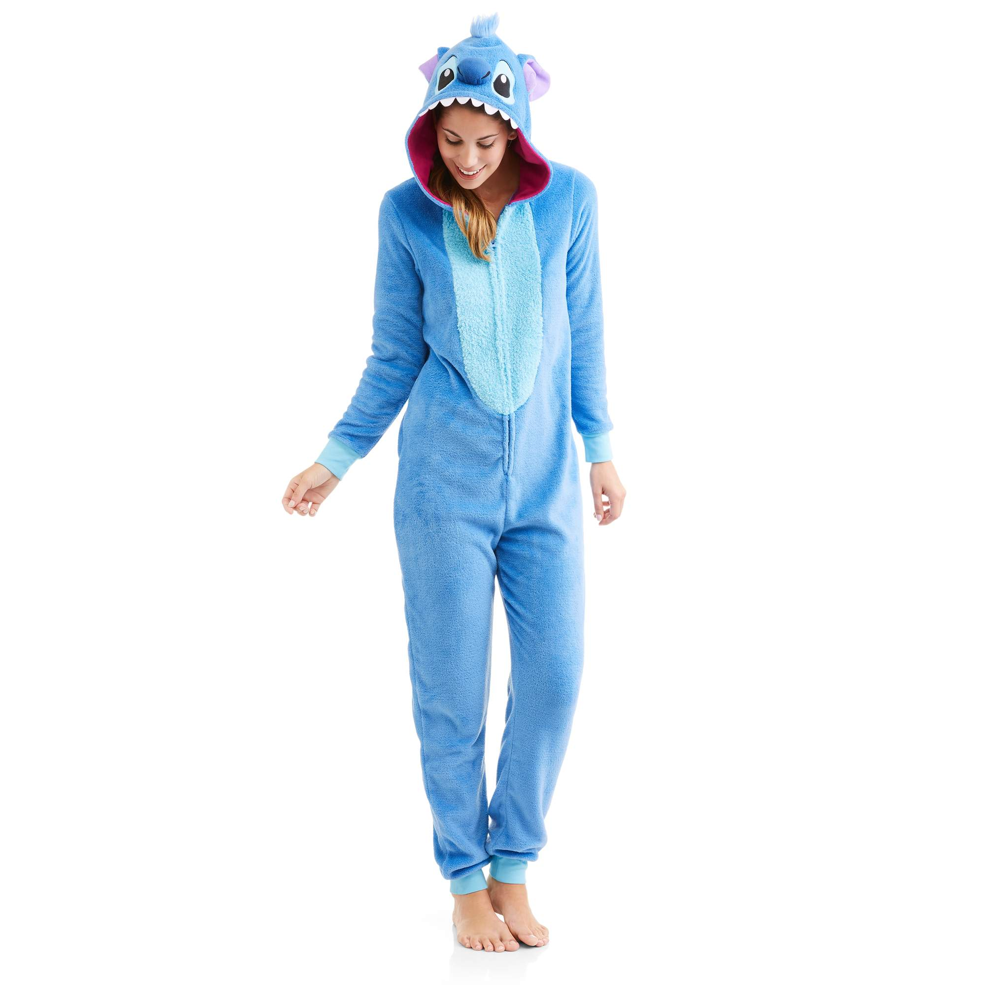Stitch - Disney s Women s and Women s Plus Licensed Sleepwear Adult One  Piece Costume Union Suit Pajama (XS-3X) - Walmart.com d76f74fb5