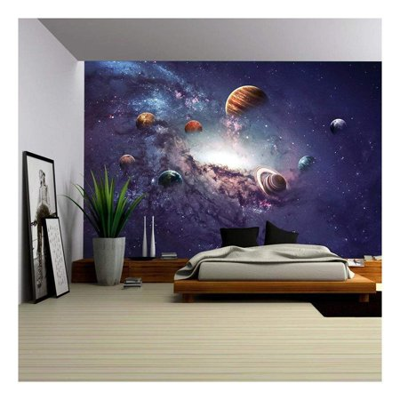 wall26 - High Resolution Images Presents Creating Planets of the Solar System. - Removable Wall Mural | Self-adhesive Large Wallpaper - 100x144 inches](High Definition Halloween Desktop Wallpaper)