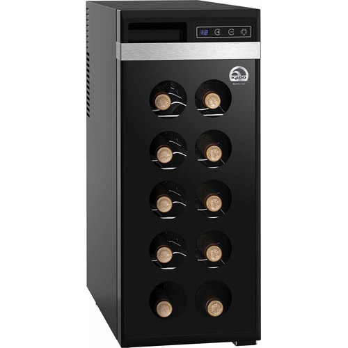 Igloo 12-Bottle Wine Cooler, Black