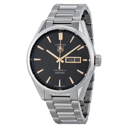 Tag Heuer Carrera 41mm Day Date Automatic Mens Watch