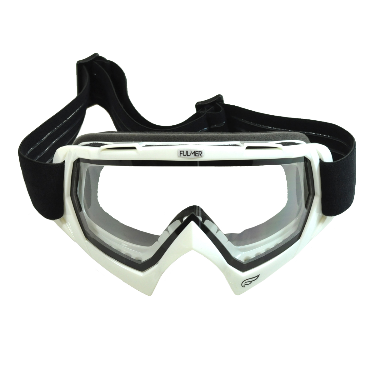 Fulmer Adult Goggles Snowmobile Ski Snow MX ATV Motocross Dirt Bike Motorcycle