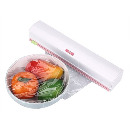 Lv. life Plastic Food Wrap Dispenser Wrap Cutter Foil and Cling Film Cutte Storage Kitchen, Wrap Cutter Foil,Cling Film Cutter (Slide Cutter Food Service Film)