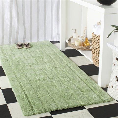 Safavieh Plush Master Cotton Bath Rugs, Set of 2