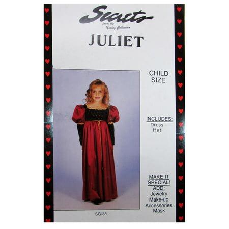 Secrets Girls 'Juliet' Halloween Costume - Juliet Capulet Costume