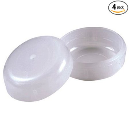 3040 1-1/2-Inch Round Internal Patio Furniture Insert Cups, 4 - 3040 1-1/2-Inch Round Internal Patio Furniture Insert Cups, 4-Pack