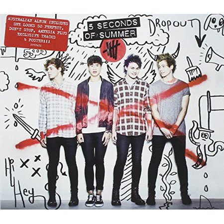 5 Seconds of Summer (Australian Deluxe Album) (CD)