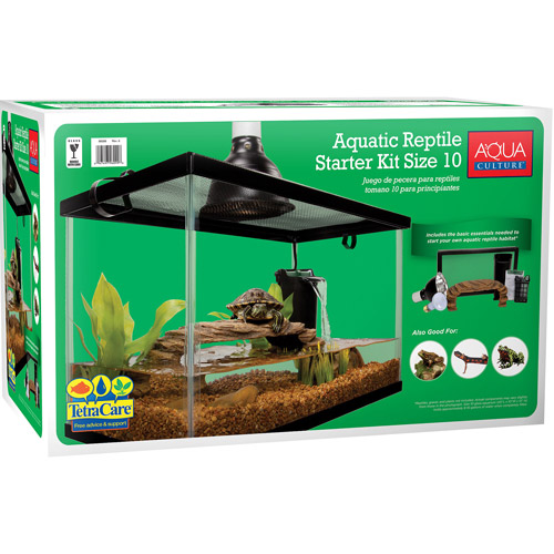 Aqua Culture 10 Gallon Reptile Kit by Generic