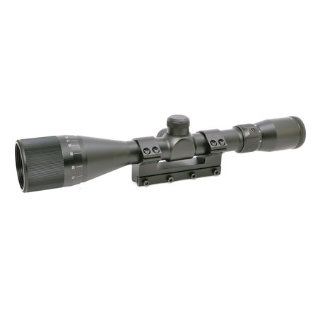 Hammers Magnum Spring Air Rifle scope 4-12X40AO w/ Stop Pin One Piece Mount