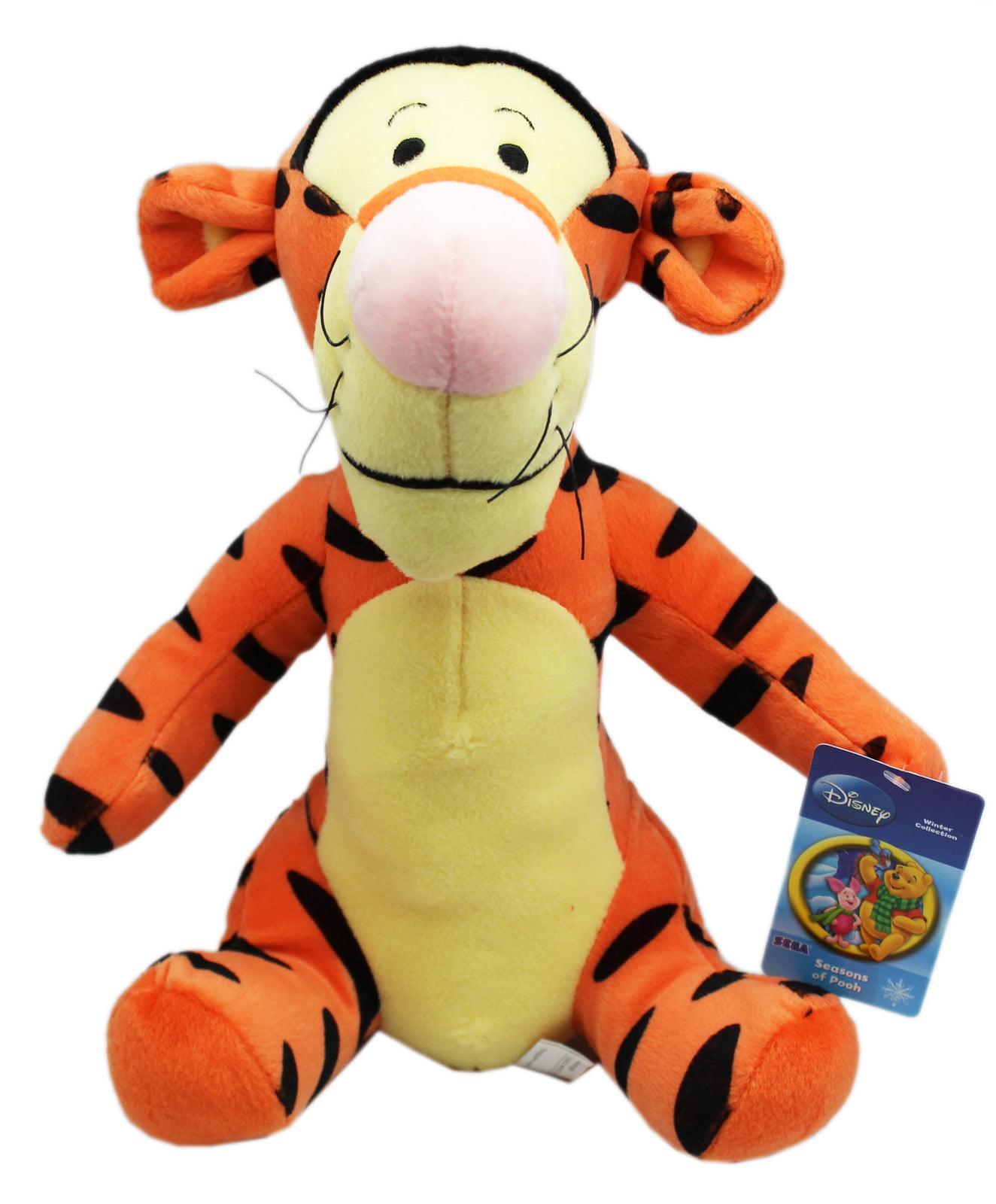 Disney's Winnie the Pooh Sitting Tigger Medium Size Kids Plush Toy (12in) by