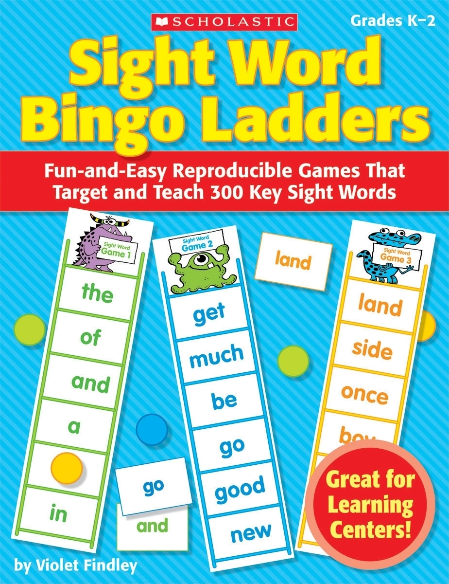 Bingo Ladders: Sight Word Bingo Ladders, Grades K-2: Fun