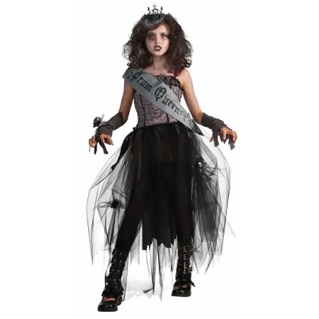 Dead Prom Queen Costume Kids (Rubies Costumes  Goth Prom Queen Child Costume - Black -)