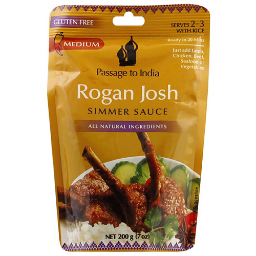 Passage to India Rogan Josh Simmer Sauce, 7 oz, (Pack of 6)