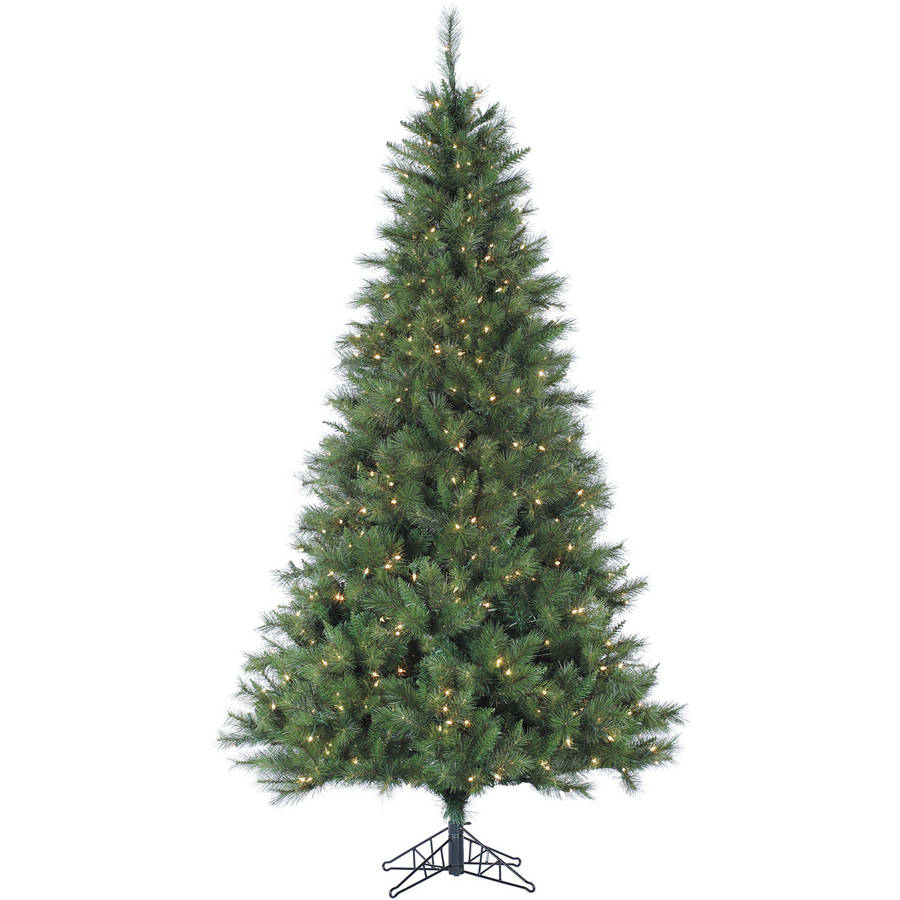 Fraser Hill Farm Pre-Lit 12' Canyon Pine Artificial Christmas Tree, Smart String Lighting