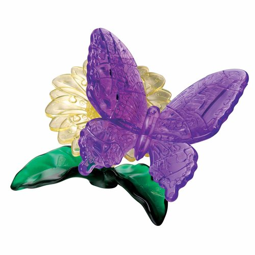 3D Crystal Puzzle, Butterfly