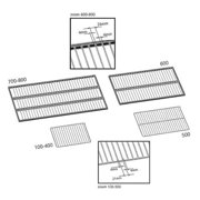 MEMMERT E28884 Grid Shelf,For Use Model 30