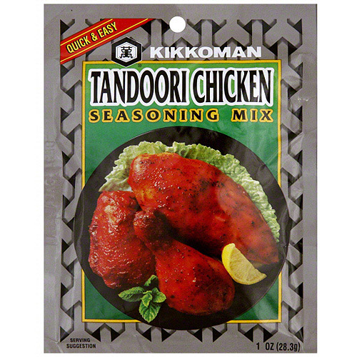 Kikkoman Tandoori Chicken Seasoning Mix, 1 oz (Pack of 24)
