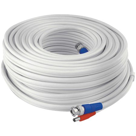 Swann SWPRO-15MTVF-GL Fire-Rated BNC Video/Power Extension Cable, 50' (25 Bnc Extension Cable)