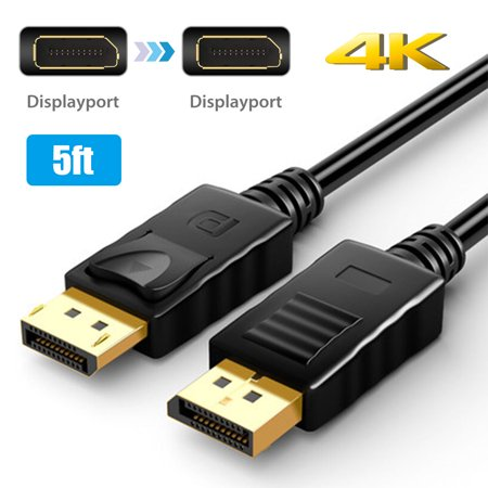 DisplayPort Cable, EEEKit 4K High Speed DisplayPort to DisplayPort Cable Displayport 1.2v Male to Male Cable  Compatible with PC, Laptop,