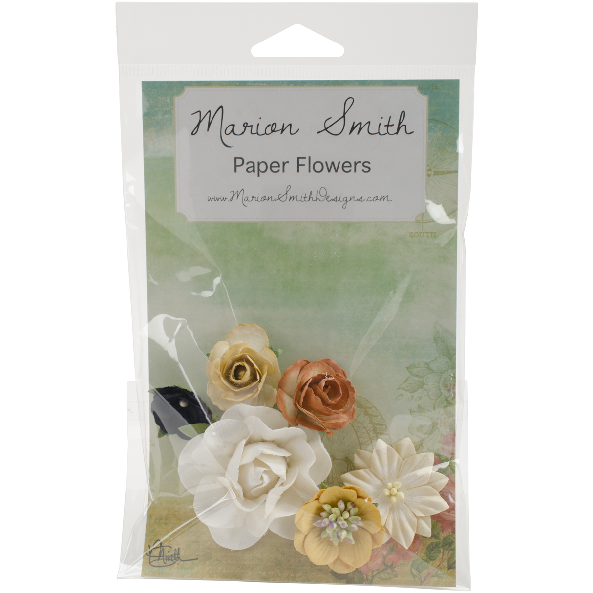 Time Keeper Paper Flowers-
