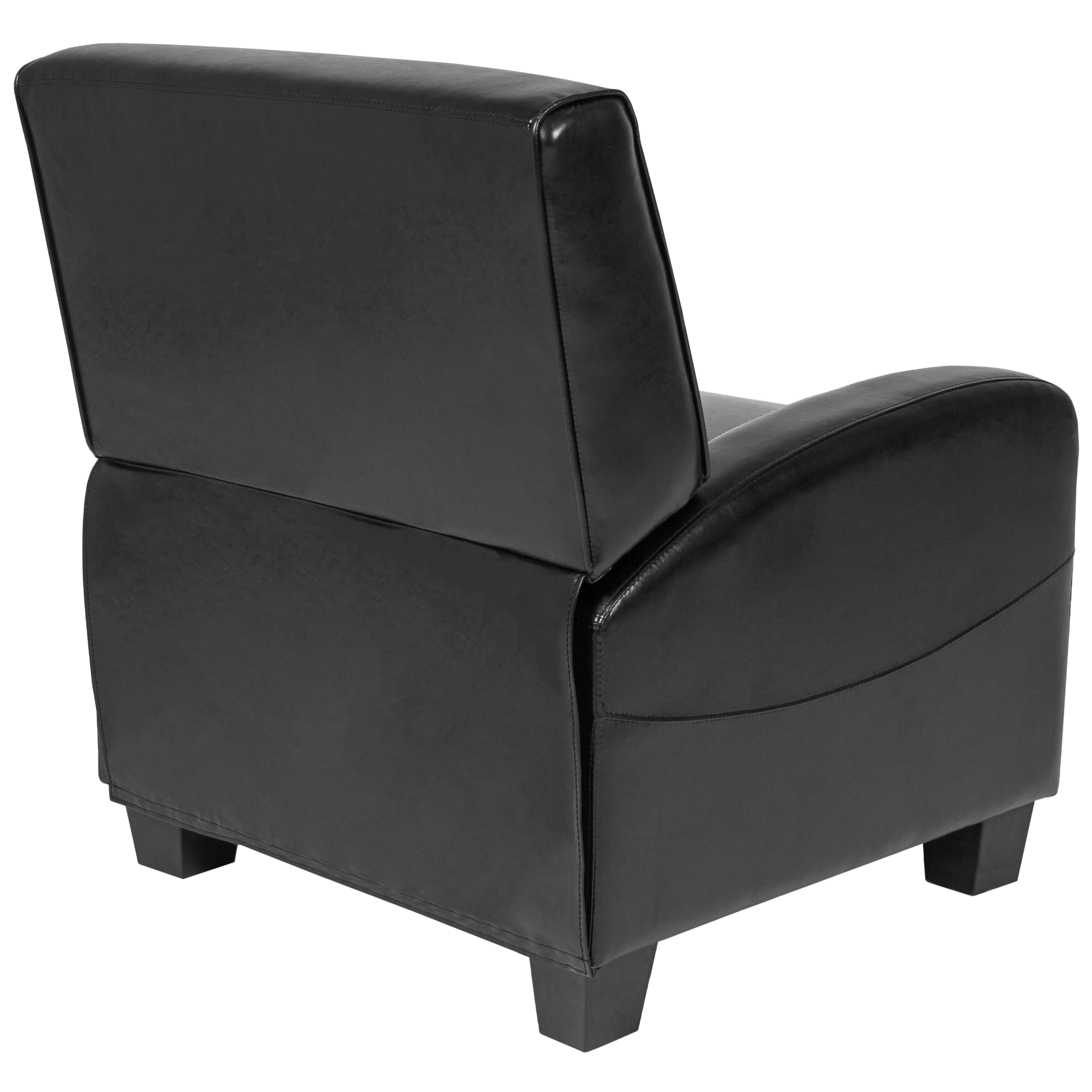 Best Choice Products Padded Upholstery Leather Home Theater Recliner Chair (Black)  sc 1 st  Walmart : recliners leather - islam-shia.org
