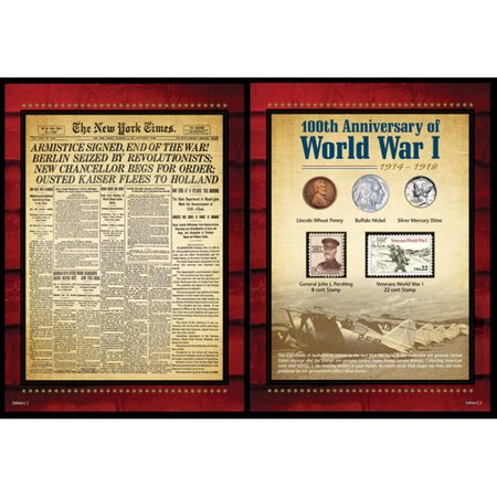 American Coin Treasures New York Times World War I Memorabilia