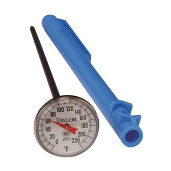 Food Service  Thermometer, Food Safety, 0 to 220F