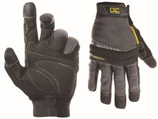 Custom Leathercraft Gray and Black Medium Handyman Gloves by Custom Leathercraft