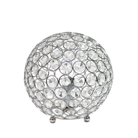 All The RagesLT1026-CHR Crystal Ball Table Lamp - image 1 of 4