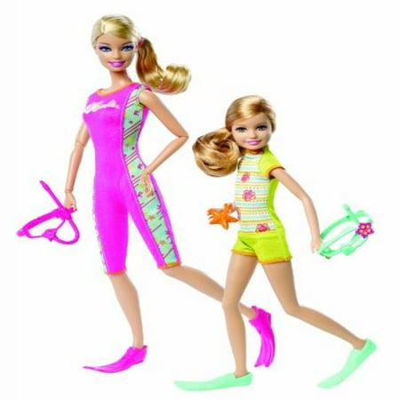 Barbie Sisters Snorkel Fun Barbie and Stacie Doll 2-Pack