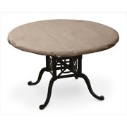 KoverRoos 31650 KoverRoos III 60 in. x 40 in. Oval Table Top Cover, Taupe - 64 L x 45 W in.