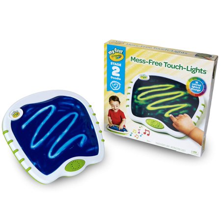 My First Crayola Touch Lights, Musical Doodle Board, Toddler Toy, (Winter Art And Craft Ideas For Toddlers)