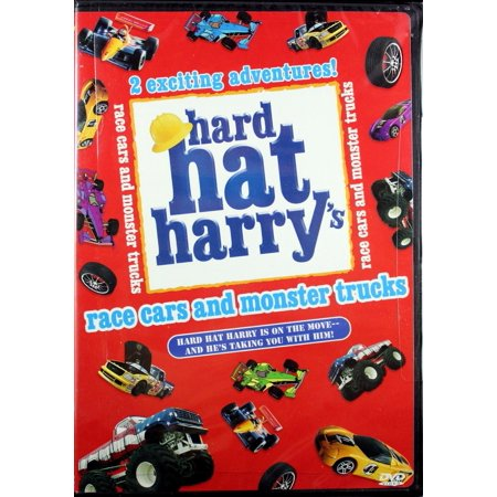 Hard Hat Harry's Race Cars and Monster Trucks DVD - Truck Hats