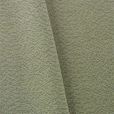 Green/Ivory JR Scott Wool Crepe Home Decorating Fabric, Fabric By the - Crepe Wool