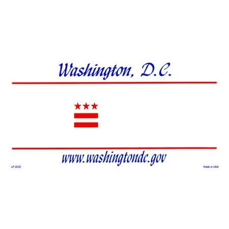 LP-2222 Washington DC -tat Blanks fond plat Automotive Plaques d'immatriculation Blanks pour Personnalisation - image 1 de 1