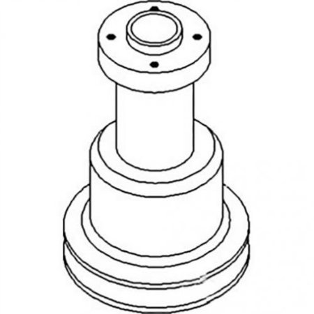 Water Pump Pulley, New, Massey Ferguson, Oliver, 303061345