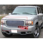 Compatible with 1998-2000 GMC Yukon Denali Main Upper Billet Grille Grill Insert G85067A
