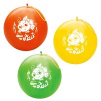Party Supplies -Pioneer Punch Balls Balloons 1 ct/Each Disney Finding Nemo 87443