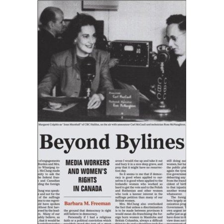 Beyond Bylines  Media Workers And Womenas Rights In Canada  Film And Media Studies    Ips