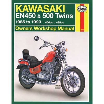 Haynes Kawasaki Shop Manual 2053