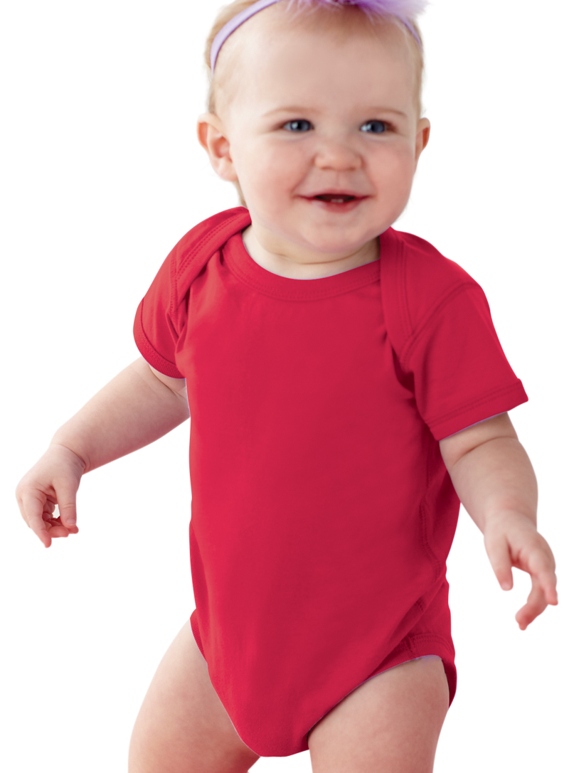 e4a1a4cb5 Rabbit Skins - Rabbit Skins 4424 Baby Solid Infant Fine Jersey Creeper  Onesie - Walmart.com