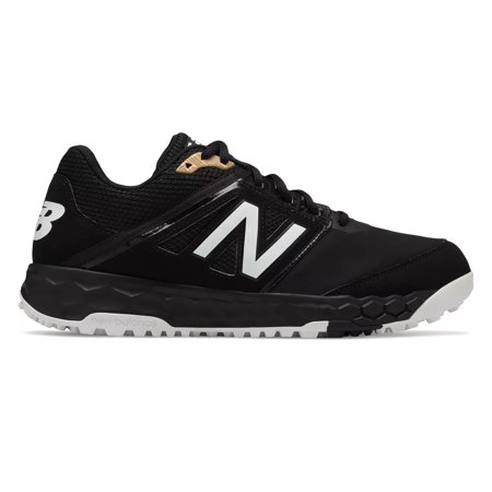 new balance 3000v4 fresh foam turf baseball shoe - black ()