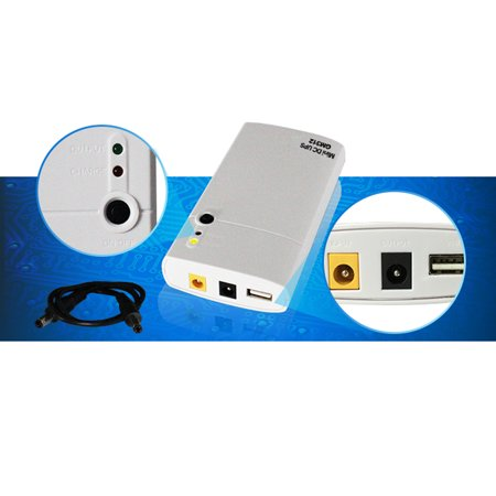 GM312 Mini DC UPS 7800mAh Power Bank Power Protection