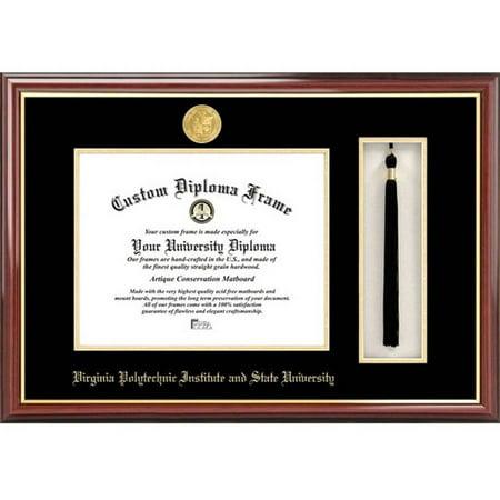 Virginia Diploma Frames - Virginia Tech 13.5 x 15.5 Tassel Box and Diploma Frame