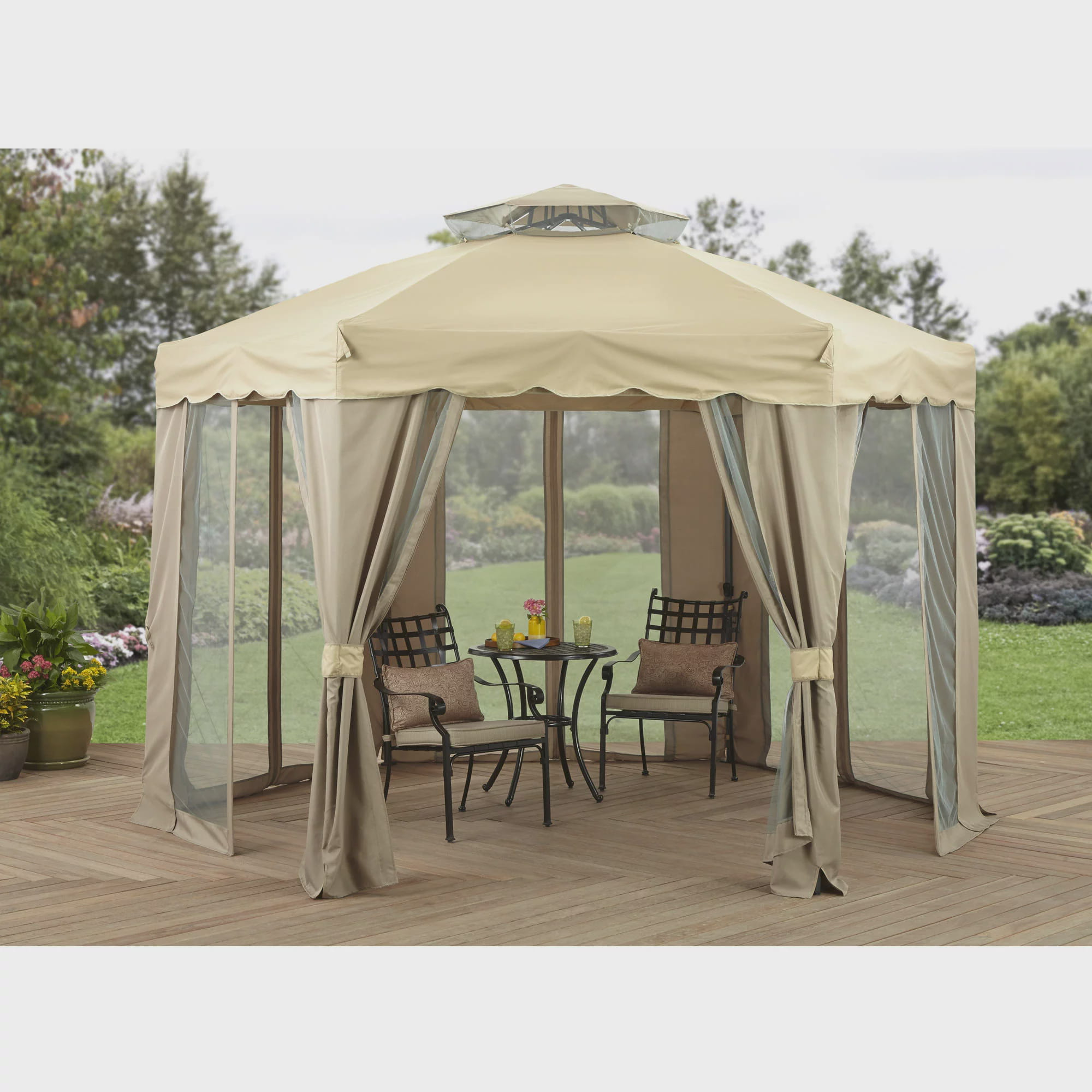 Better Homes and Gardens 12' x 12' Gilded Grove Gazebo by