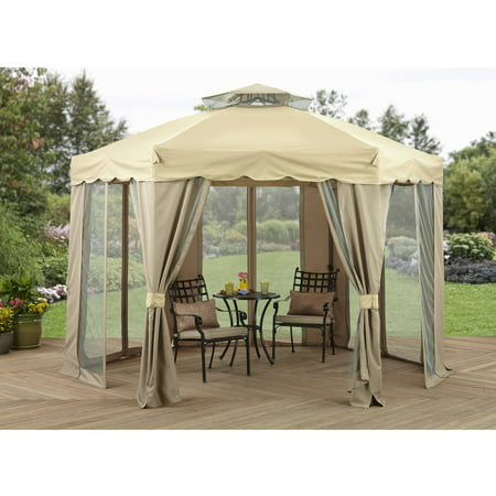 Better Homes and Gardens 12' x 12' Outdoor Gilded Grove Gazebo - Halloween Grove Gardens