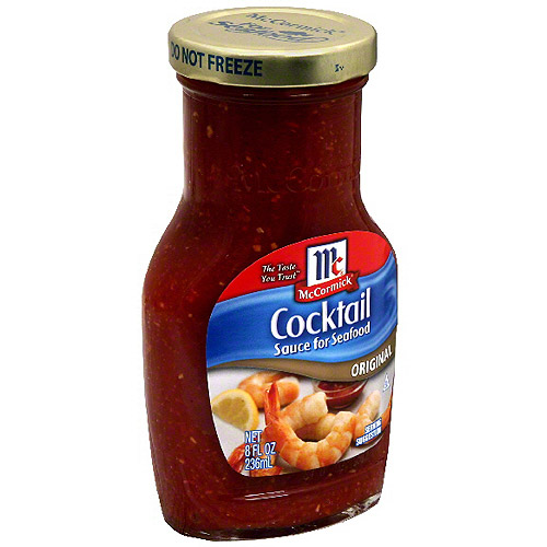 Golden Dipt Original Cocktail Sauce, 8 oz (Pack of 12)