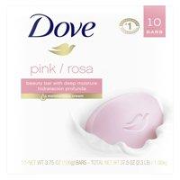 Dove Beauty Bar Pink 3.75 oz 10 Bars