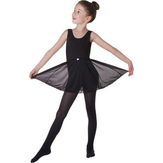 b5e429c772ec Danskin Now - Girls  Sleeveless Dance Leotard and Skirt 2-Piece Set ...