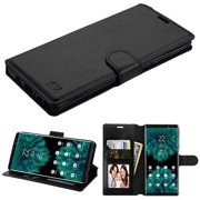 Samsung Galaxy Note 9 - Phone Case Leather Flip Wallet Case Cover Stand Pouch Book Magnetic Buckle BLACK for Samsung Galaxy Note 9